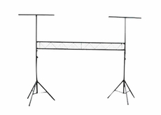 Pyle Pro (PPLS209) DJ Lighting Truss System with Integrated Crossbar Stand