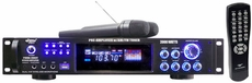 Pyle Pro (PWMA2003T) 2000 Watts Hybrid Pre-Amplifier W/AM-FM Tuner/USB/Dual Wireless Mic