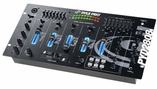 Pyle Pro (PYD2808) 19'' Rack Mount 4 Channel Professional Mixer with Digital Echo and SFX