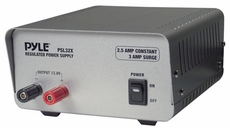 Pyle (PSL32X) 2.5 Amp Linear Power Supply AC/DC
