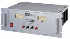 Pyle (PSL642X) 60 Amp Rack Mount Linear Power Supply AC/DC With Rolling Casters