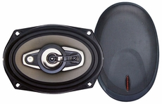 Pyramid (6980GX) 6'' X 9'' 4-Way 800 Watts P.P. COne Speakers