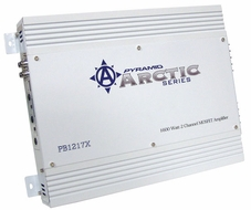 Pyramid (PB1217X) 1600 Watt 2 Channel Bridgeable MOSFET Amplifier
