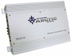 Pyramid (PB1617X) 2000 Watt 4 Channel Bridgeable MOSFET Amplifier