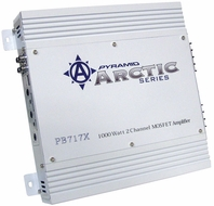 Pyramid (PB717X) 1000 Watt 2 Channel Bridgeable MOSFET Amplifier