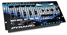 Pyramid (PM4800SFX) 4 Channel Rack Mount Stereo Dj Mixer W/ Sound Effects