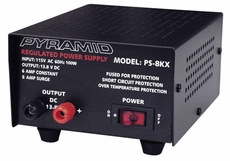 Pyramid (PS8KX) 6 Amp Power Supply