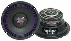Pyramid (WH68) 6'' 200 Watt High Power Paper Cone 8 Ohm Subwoofer