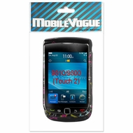 Reiko (BB9800) Black, 2D, Protector Cover for BlackBerry Torch 9800 136