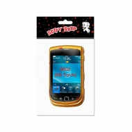 Reiko (BB9800) Yellow, 2D, Protector Cover for BlackBerry Torch 9800 B75