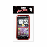Reiko (Incredible HD 6400) Red, 2D, Protector Cover for HTC incredible HD 6400 B483