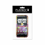 Reiko (Incredible HD 6400) Yellow/Pink, 2D, Protector Cover for HTC incredible HD 6400 PB36
