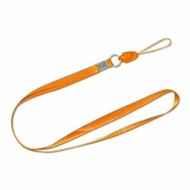 Reiko (STRAP-LORG) Orange, Detachable Long Lanyard Neck Strap