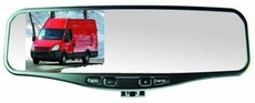 "Rostra (250-8081) RearSight 1/4"" CMOS Hybrid Color Camera featuring Deluxe 4.2"" TFT LCD Rear View Mirror"