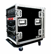 "(RR14U-AD) 14U Deluxe Amplifier Case - 18"" Body Depth"