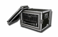 (RR6UADS) 6U Amplifier Deluxe Case - 18 Inch Shock Mount