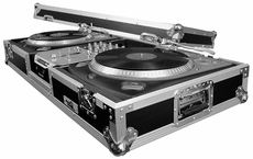 "(RRDJ10) 2 Turntables / 10"" Mixer DJ Coffin - Battle Style"