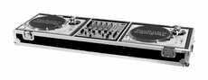 (RRDJMW) 2 Turntables/ Pioneer DJM 500 or DJM600 Mixer or Other 12' Mixer with Wheels