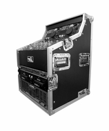 "(RRDJWS6) Dual CD, Control and 19"" Mixer, DJ Work Station, Top Rack 3u, MID 7U and Bot. 6U"