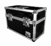 (RRM18S) Ata Style 18 Microphone Case for 18 Mics w/ Storage Compartment