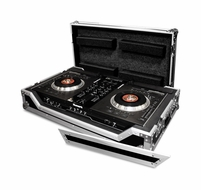(RRNS7W) Case for Numark NS7 - Comes with Low Profile Wheels