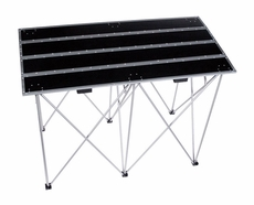 """(RRSTANDT) Fold Out 36"""" Tall Multipurpose Table with Compact Shoulder Carrying Option"""