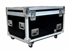 (RRUT1) Utility Trunk with Caster Truck Pack, Adjustable Compartments & Pull Out Drawer