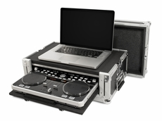 (RRVCI300) Ata Case for Vestax VCI300 with Laptop Storage and Pull Out VCI300 Compartment