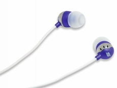 Scosche (HP6PU) Noise Isolation Earbuds (Purple)