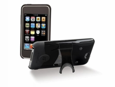 Scosche (IT3KBK) Hybrid case for iPod touch (Gen 3) - (Black/Black)