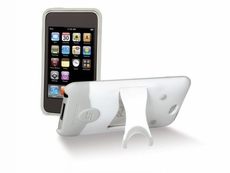 Scosche (IT3KGW) Hybrid case for iPod touch (Gen 3) - (White/Grey)