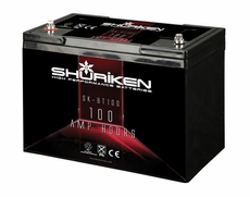 Shuriken (SK-BT100) 2250 Crank Amps High Performance Battery with 100AH