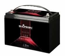 Shuriken (SK-BT120) High Performance Battery with 120AH and 2600 Crank Amps