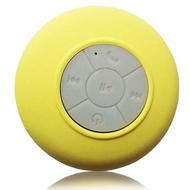 Fresh eTech (SKU34) Yellow Splash Shower Tunes - Wireless Shower Speaker