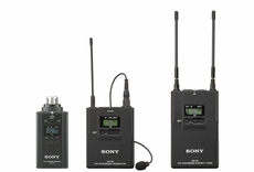Sony (UWPV6/3032) Lav Mic, Bodypack TX, Plug-on TX and Portable RX Wireless System