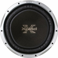 """Sony (XS-L156P5B) 15"""" 450W 4-Ohm SVC Component Subwoofer Driver"""