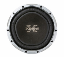 """Sony (XS-LD106P5) 10"""" 1200W Dual 4-Ohm Component Car Subwoofer Driver"""
