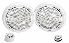 Sony (XS-MP1650W) 180W Max Power (50W Rated) Marine Component Speakers