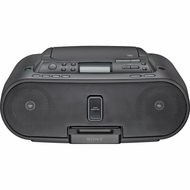 Sony (ZS-S2IPBLACK) Black CD Boombox With iPod Dock