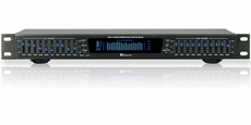 Technical Pro (EQ5101) Professional Dual 10 Band Equalizer w/ Digital Specturm w/ iPod Input, Black