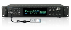 Technical Pro (HB-1502U) 1500 Watt Digital Hybrid Amplifier / Preamp / Tuner with USB and SD Card Inputs