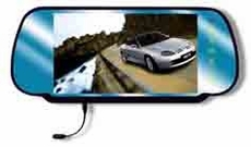 """TKO Audio (BH-BVM-C72BT) 7"""" TFT-LCD Rear View Mirror Monitor with Built-in Bluetooth and Night Vision Camera"""
