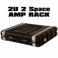 "TOV (T-2P) 2U ABS 18"" Deep Rack Case"