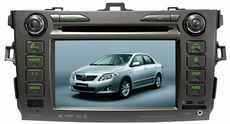 Toyota Corolla OEM (Factory Fit) In-Dash CD/DVD/MP3/AM/FM Navigation Touchscreen Receiver with Built-In iPod Interface and Bluetooth