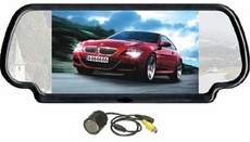 TView (RV-725C) Rear View Monitor With Built-In 7 Inch Monitor & Rearview Camera Included