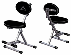 Ultimate Support (PC-80B) Comfortable, Adjustable Performance Chair with Built-in Foot Rest and Tip-resistant Design