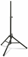 Ultimate Support (TS-80B) Original Series Aluminum Tripod Speaker Stand with Integrated Speaker Adapter - Black