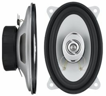 "Logic (XJ460) 250W 4""x6"" 2-Way High Power Speaker, Pair"