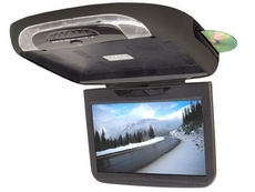 "Zicom (ZFA11W3) 11"" Wide Flipdown Monitor w/ Built in DVD Player & iPod Cable"