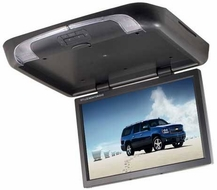 """Zicom (ZFA19WL) 19"""" TFT LCD Flip Down Monitor with Built-in DVD Player"""